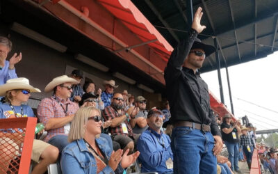 Cowboy Skill Games Honors Wyoming Deputy Sheriff Who Saved Two Women From Drowning