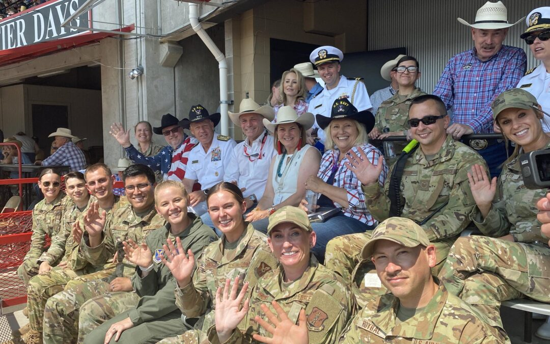 Cowboy Skill Games and cheyenne frontier days Honors Wyoming Airmen Who Saved Kidnapped Child