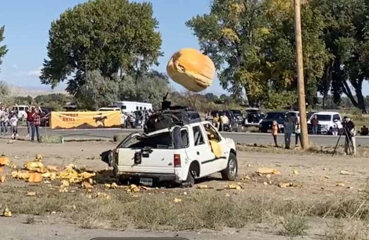 Exploding 1,000-Pound Pumpkins & State Records Broken at Wyoming State Pumpkin Championship